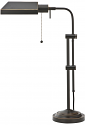 "Bronze Adjustable Pharmacy Desk Lamp 22-26""H"