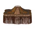 """Bronze Victorian UNO Lamp Shade 14""""W"""