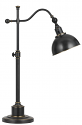"Oil Rubbed Bronze Adjustable Arm Desk Lamp 28""H"