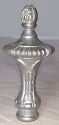 "Cast Metal Lamp Shade Finial in Popular Colors 3""H"