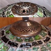 Tiffany Heat Cap Repair