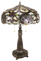 "Multi Color Classic Tiffany Lamp 28""H"