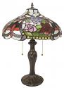 """Fleur De Lis Tiffany Lamp 23""""H"""