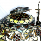 Tiffany Lamp Shade & Base Repair