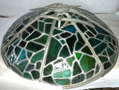 Tiffany Lamp Shade Broken Frame Repair