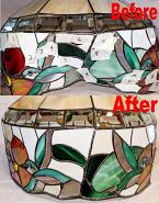 Broken Tiffany Shade Repair