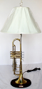Trumpet Lamp & Musical Note Finial