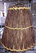 "Rustic Twigs Lamp Shade 8""W"