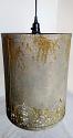 "Vintage Victorian Metal Drum Plug In Pendant Light 3 Sizes 12-14""W - Sale !"