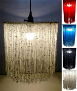 "Colorful Victorian Swag Lights 15""Wx12""H - Sale !"