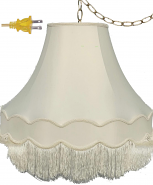 """Victorian Gallery Bell Swag Light 14-20""""W"""