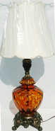 "Vintage Hollywood Regency Lamp 31""H"