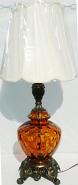 """Vintage Hollywood Regency Lamp 31""""H SOLD"""