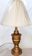 Antique Gold Vintage Urn Lamp