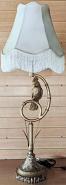 "Vintage Exotic Bird Lamp 39""H"