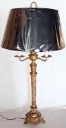 """Vintage Candelabra Lamp 33""""H"""
