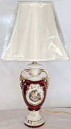 """Vintage French Courtiers Lamp 25""""H"""