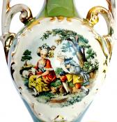 "George & Martha Washington Lamp 25""H"