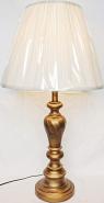 "Antique Gold Lamp 30""H"