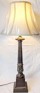 """Classic Bronze Lamp 32""""H"""