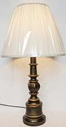 "Bronze Lamp w/Base Switch 29""H"