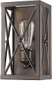 "Brooklyn Oil Rubbed Bronze Industrial Wall Sconce Light 5""Wx10""H - Sale !"