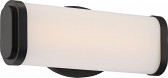 "Pace LED Aged Bronze Acrylic Lens Sconce Light 12""Wx5""H"