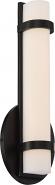 """Slice LED Aged Bronze Acrylic Sconce Light 4""""Wx12""""H"""
