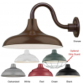 "Warehouse Wall Light 6 Colors Indoor-Outdoor 14-17""W"