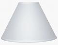 "White Linen Empire Lamp Shade 15-16""W"
