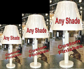 "Wholesale Ivory Lamp Linen Shade 22-30""H"