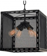 "Industrial Wire Mesh Pendant Light 16""W - Sale !"