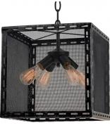 "Industrial Wire Mesh Pendant Light 16""W - Sale !"