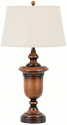 "Enderlin Wood Grain Table Lamp Drum Shade 33""H - Sale !"