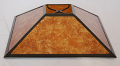 Low Profile Square Coolie Mica Lamp Shade