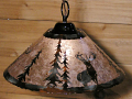"Elk Mica Pendant Light Swag Lamp 14-18""W"