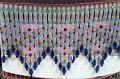 "Beaded Fringe Blue, Green, Pink 5"" Long For Medium To Larger Lamp Shades, Call Lamp Shade Pro 704-732-8001"
