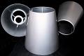 Custom Tapered Metal Lamp Shades