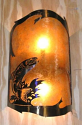"Trout Fish Mica Sconce Light 8""X16"""