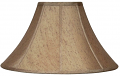 "Gold With Flecks Coolie Lamp Shade 16-22""W"