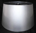 Custom Silver Drum Metal Lamp Shade