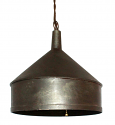"Funnel Swag Lamp Pendant 10""W"