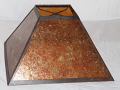 Square Pyramid Mica Lamp Shade