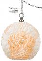 "Seashell Swag Lamp 11.5""Wx13.5""H"