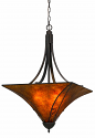 "Mica Pendant Light Chandelier 22""W"