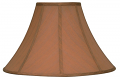 "Copper Coolie Lamp Shade 16-22""W"